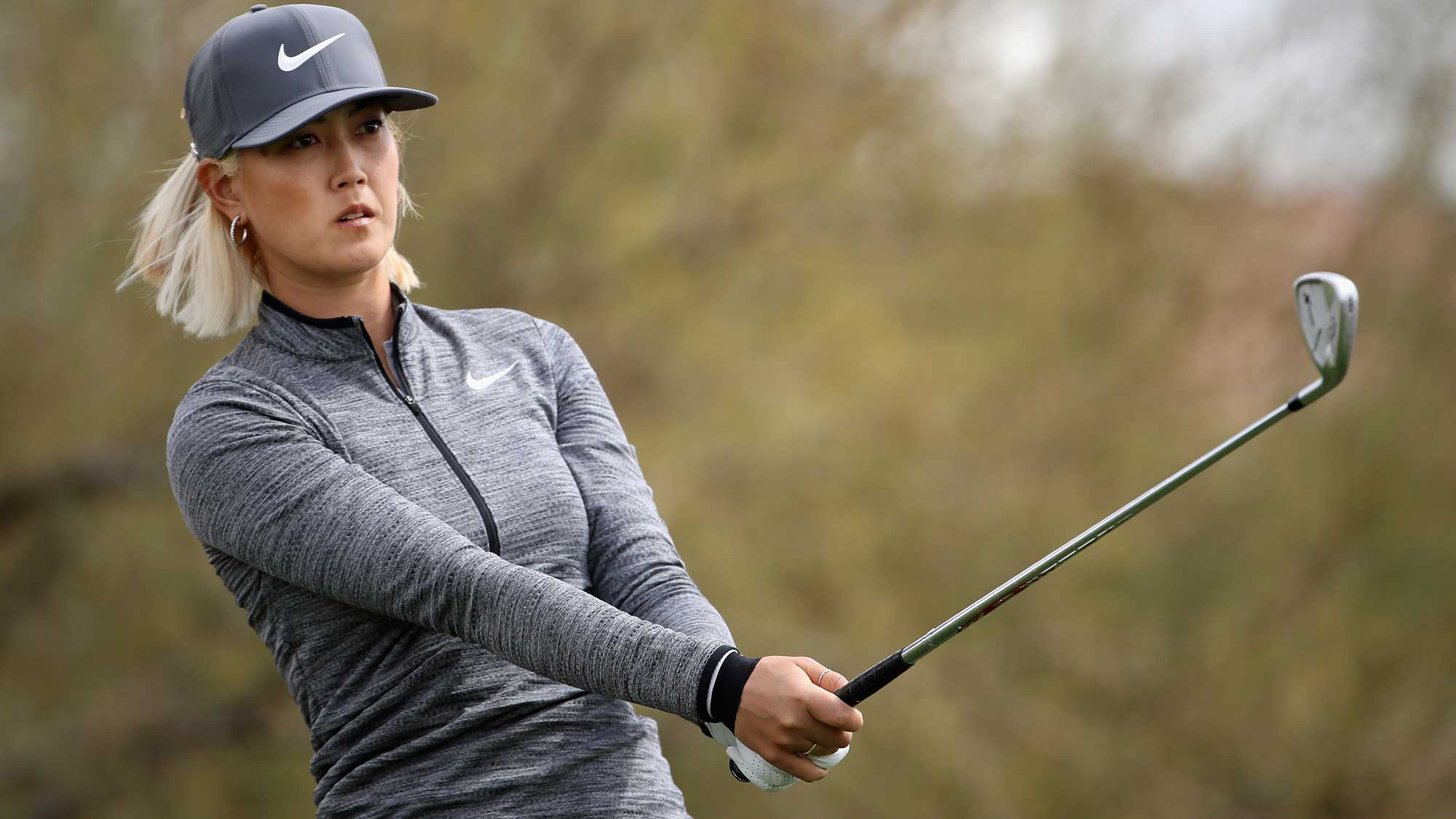 Michelle Wie Cards a 70 on Day One at Founders Cup