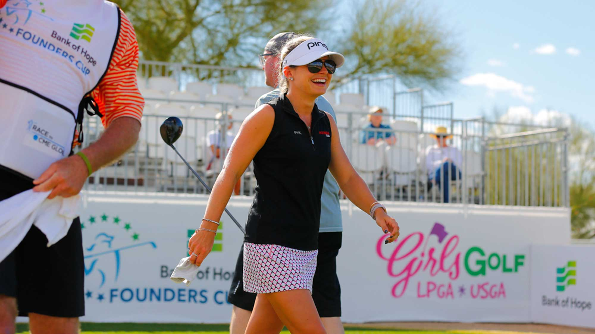 Rookie Lindsey Weaver at Bank of Hope Founders Cup