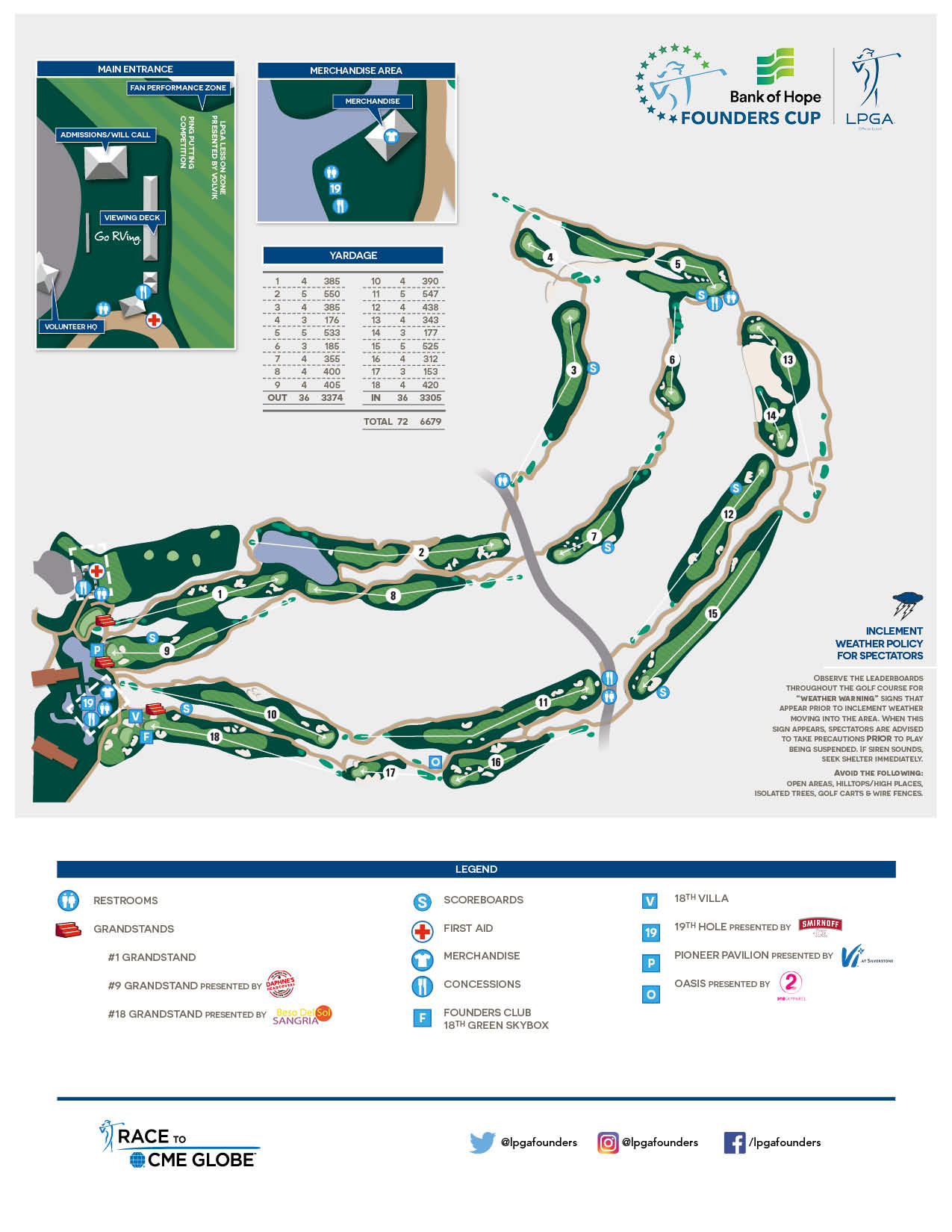 Course Info  LPGA Founders Cup