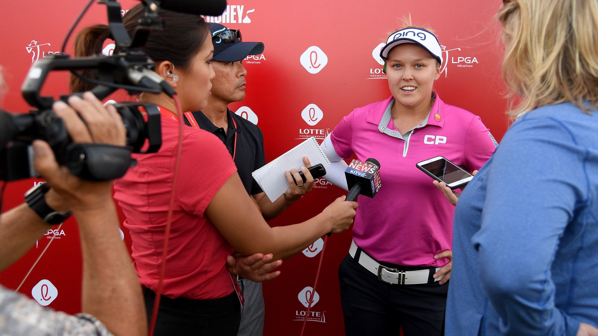 Brooke Henderson Meets the Media