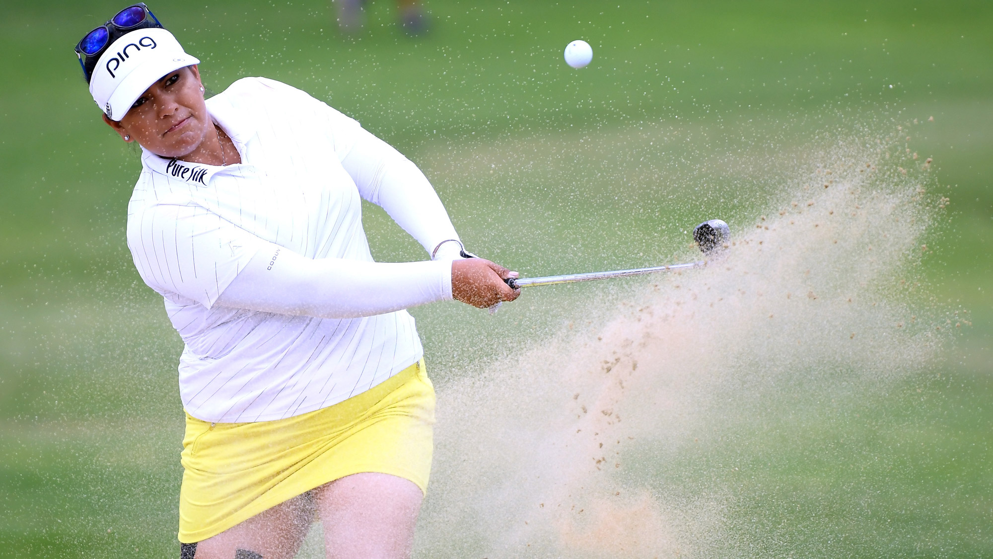 Lizette Salas Swings at LOTTE Championship