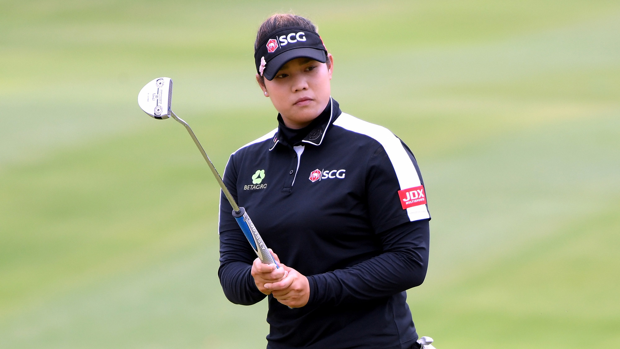 Ariya Jutanugarn at the LOTTE Championship