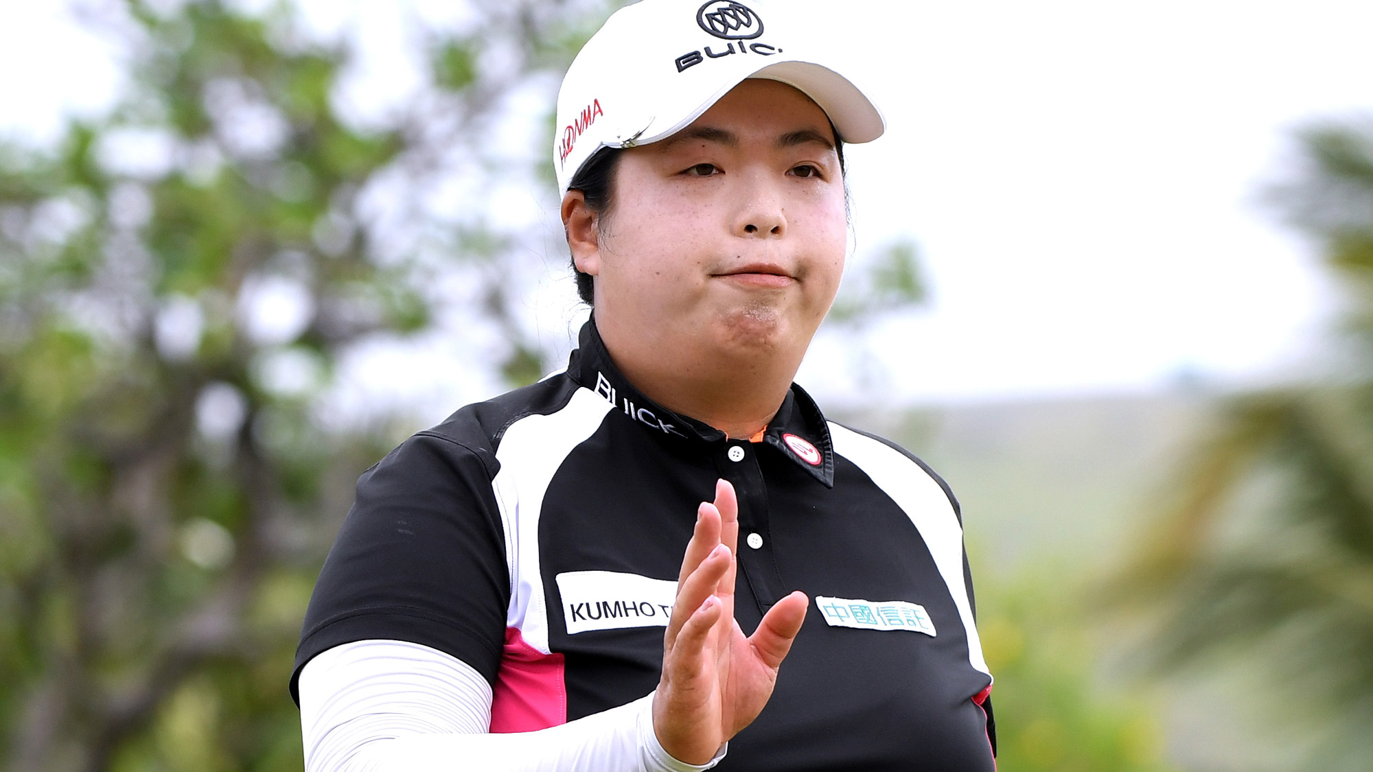 Shanshan Feng in Final Round of LOTTE Championship