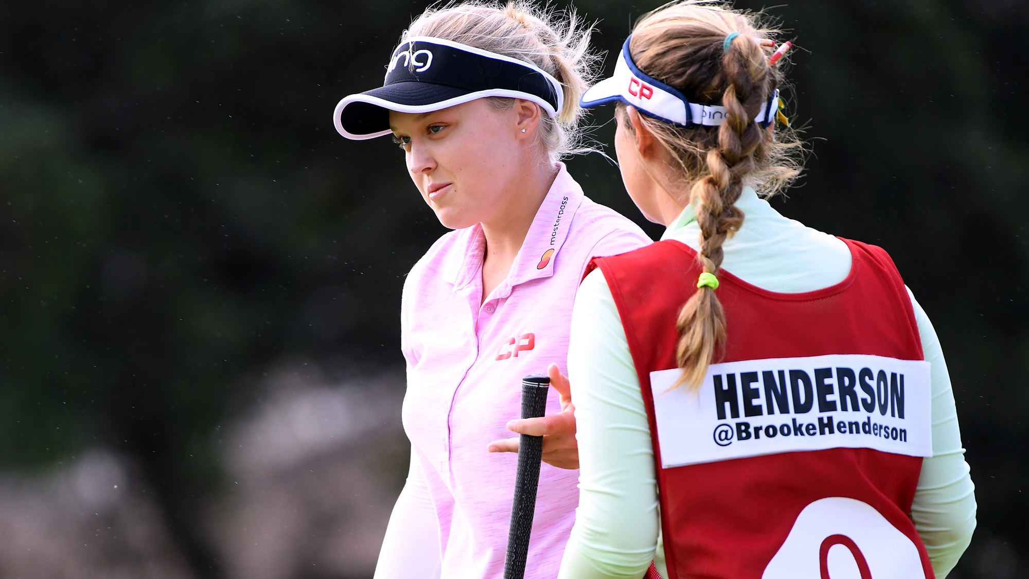 Brooke Talks to Brittany at LOTTE Championship