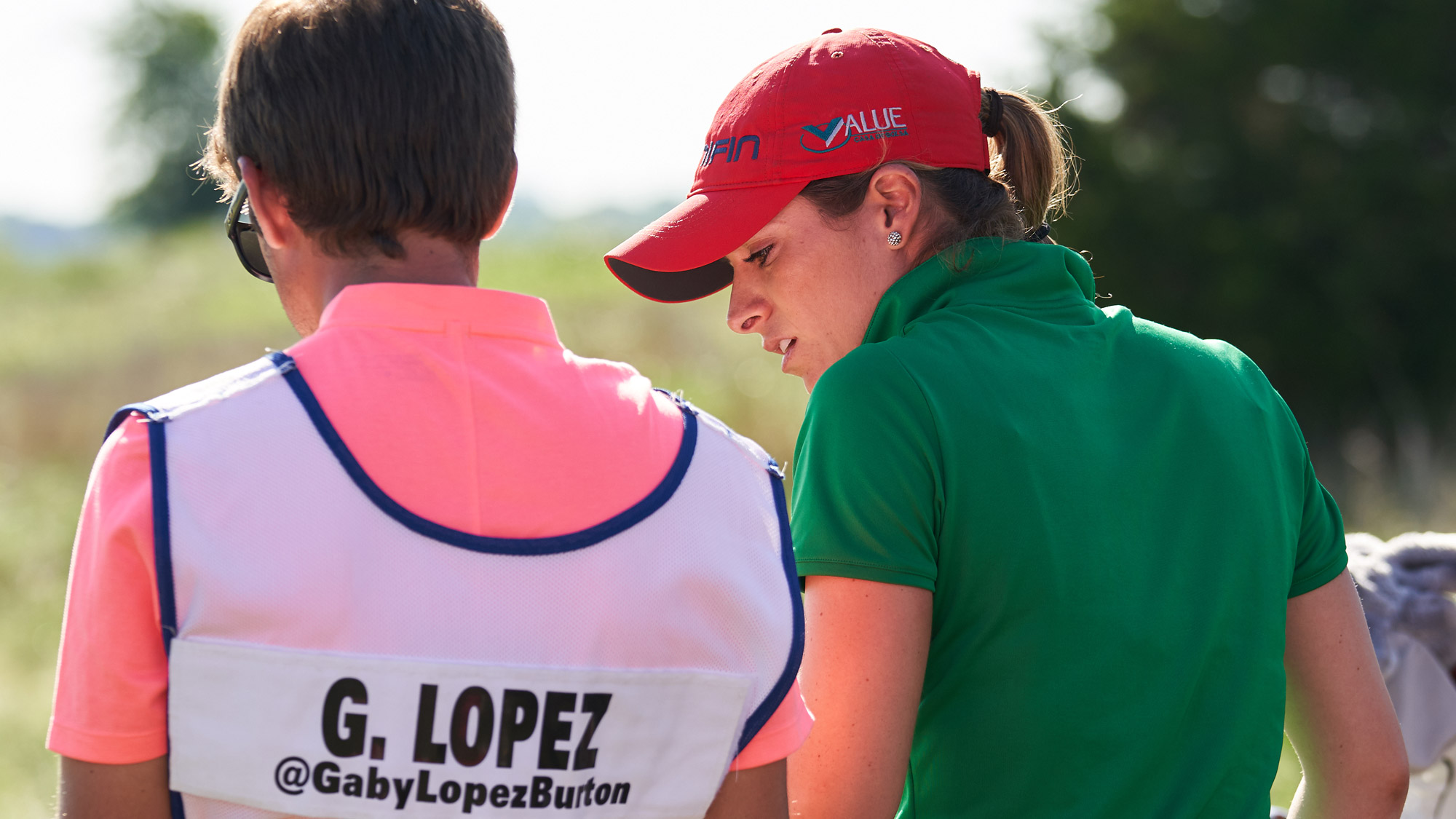 Gaby Lopez Hanging Out at VOA LPGA Texas Classic
